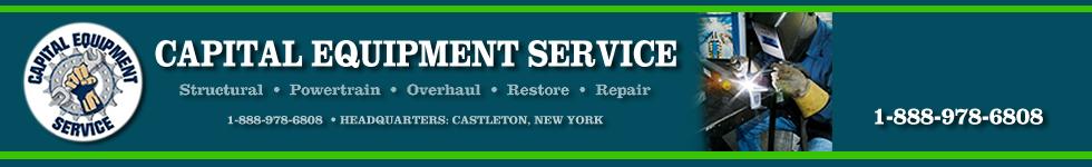 Capital Equipment Service